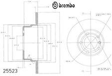 Brembo 25523 Disc Brake Rotor