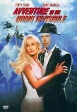 Avventure Di Un Uomo Invisibile (1992) DVD Edizione Warner Fuori Catalogo