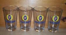 FOSTERS LAGER 4 PUB BAR BEER PINT GLASSES FOSTER'S NEW