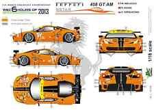 [FFSMC Productions] 1/18 Ferrari F458 GT AM 8Star Motorsports 6 H de SPA 2013
