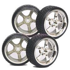 SET RC 1:10 On Road Car Drift Tyre Tires & Wheel Rim Hard 1022-6013