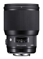 Sigma321955 85mm F/1.4 DG HSM Art N/AF Objektiv for Sigma