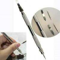Metal Watch Band Strap Spring Bar Link Pin Remover Repair Tool Kits & 4 Pins