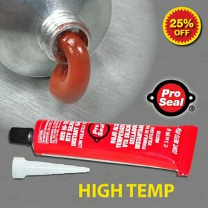 Pro Seal High Temp Silicone Sealant Mount GLUE for Brembo BRAKE CALIPER COVERS