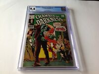 CHAMBER OF DARKNESS 8 CGC 9.4 WHITE PAGES BERNIE WRIGHTSON MARVEL COMICS