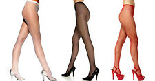 Lot Fishnet Hosiery Sheer Pantyhose Stockings Tights One Size Red Black Nude