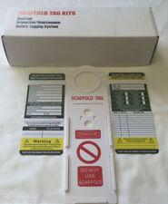 10 x Scaffolding Tags - New in Box - Premium Quality - Fantastic Value