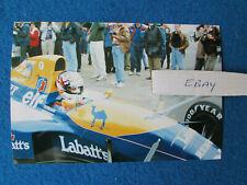 More details for original press photo - nigel mansell - british grand prix 1991 - williams - b