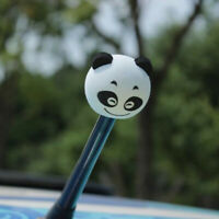 Cute Panda Car Antenna Aerial Ball EVA Topper Truck SUV Pen Decor Gift -SL Y1