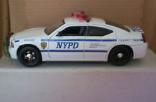 1/24 SCALE JADA 2006 DODGE CHARGER NYC POLICE CAR