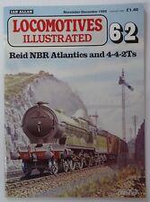 Locomotives Illustrated 62 - Reid NBR Atlantics and 4-4-2Ts