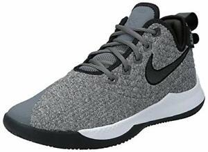 Nike Men's Lebron Witness III Dark Grey Sz 12 AO4433-002 Basketball Shoes