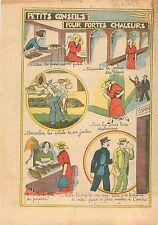 Caricature Parisienne Salon de Thé Galerie des Glaces Château de Versailles 1933