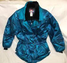 Vintage 90s POLARIS Womens L Translucent Snowmobile Jacket Coat