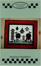 Timid Thimble Creations Quilted Wall Hanging Pattern: Backyard Neighbors 512