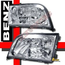 92-99 Mercedes Benz W140 S Class S320 S420 4Dr Sedan Chrome Headlights 1 Pair