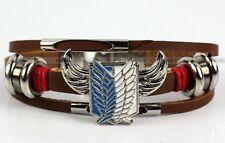 Attack On Titan Shingeki No Kyojin Sign Rotation Wrist Pendant Bracelet 2015