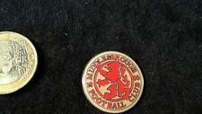 Fussball Pin Badge FC Middlesbrough 1986 Logo Emblem