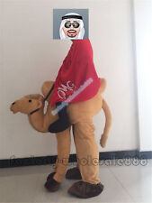 Ride a Camel Costume Adults size Mascot Costumes Ride On Fancy Dress halloween