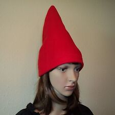 One Gnome Hat Your choice of red or blue - Halloween Costume Dress up Garden