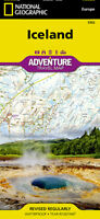 Iceland Adventure Travel Map National Geographic Waterproof