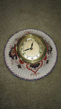 MADE in FRANCE by PARIS DECORATIONS / Porcelain Wall Clock / LUX MFG Movement /