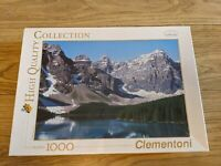 Clementoni-Lake,Forest & Mountains-1000P - High Quality Collection Puzzle, NEW
