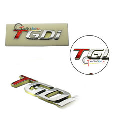 1PC TGDi Car Emblem Sticker for KIA K2 K3 K5 New Sportage 2.0 Turbo T-GDI Badge