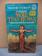 More Than Human by Theodore Sturgeon (1981, Paperback)