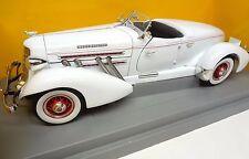 1935 White Auburn 851 Speedster Ertl 1:18th scale die cast Limited Edition 1/18
