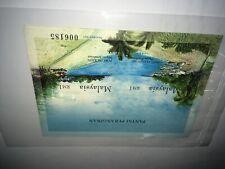 Malaysia 2002 Islands & Beaches ms miniature sheets