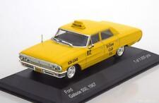 FORD GALAXIE 500 1967 YELLOW CAB NEW YORK WHITEBOX WB175 1/43 USA JAUNE GELB