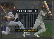 FUTERA 1996 CRICKET ELITE BRIAN LARA RICHIE RICHARDSON PARTNERS CARD No 46