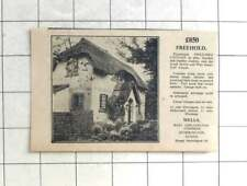 1936 Picturesque Cottage Near Storrington, Two Bedrooms, £850