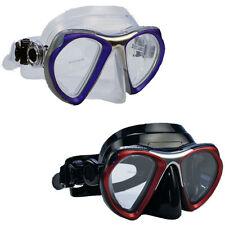 Promate Metal Silicone Mask Scuba Dive Snorkeling Gear