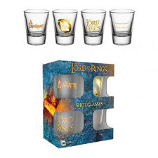 The Lord of the Rings - Shot Glass Set (4 Pack) - GIFT
