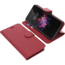 Custodia Per Tp-Link Neffos X1 Max Book-Style Protettiva Cellulare a Libro Rosso