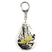 Star Wars Han Solo acrylic key chain Millennium Falcon SWKC686