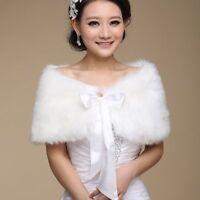 Bridal Warm Cape Ladies Formal Shawl Jacket Winter Pashmina Scarf Fashion Bolero