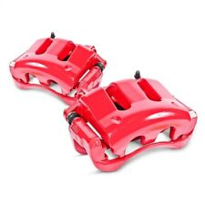Power Stop S3274 Red Powder Coated Calipers For 08-15 Toyota Sequoia NEW