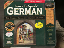 The Learning Company Learn to Speak German 8.0