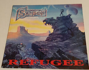 SAMSON - REFUGEE LP VINYL - NWOBHM HEAVY METAL