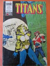 TITANS N)° 150 Juillet 1991 Excalibur Avengers