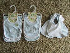 NEW BABY BOY BIBS BURP CLOTHS BLUE BLUE THEME 7 BIBS 2 BURP CLOTHS LITTLE ME
