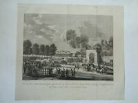 Engraving Party Of Wins Field Of Mars 21 October 1794 Desfontaines