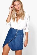 Boohoo Denim Casual Skirts for Women