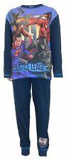 Boys Justice League Movie Blue Pyjamas