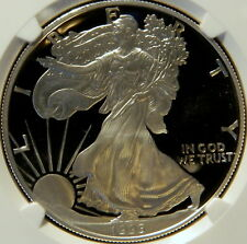 1995 W PROOF SILVER EAGLE, NGC PF 69 ULTRA CAMEO