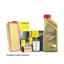 Kit tagliando, quattro filtri + olio 5 Litri olio CASTROL EDGE 5W30 BMW SERIE 3