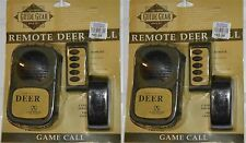 Lot 2 New Guide Gear Remote Control Deer Call Game Hunting $49 Retail Wireless